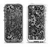 The Black and White Lace Pattern10867032_xl Apple iPhone 5-5s LifeProof Fre Case Skin Set