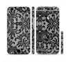 The Black and White Lace Pattern10867032_xl Sectioned Skin Series for the Apple iPhone 6/6s