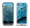 The Blue Broken Concrete Apple iPhone 5-5s LifeProof Fre Case Skin Set