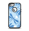 The Blue DragonFly Apple iPhone 5-5s Otterbox Defender Case Skin Set