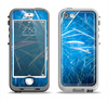 The Blue Fireworks Apple iPhone 5-5s LifeProof Nuud Case Skin Set
