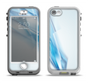 The Blue HD Glass Shard Apple iPhone 5-5s LifeProof Nuud Case Skin Set
