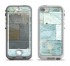 The Blue Marble Layered Bricks Apple iPhone 5-5s LifeProof Nuud Case Skin Set