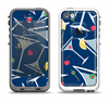 The Blue Martini Drinks With Lemons Apple iPhone 5-5s LifeProof Fre Case Skin Set