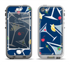 The Blue Martini Drinks With Lemons Apple iPhone 5-5s LifeProof Nuud Case Skin Set