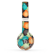 The Blue & Orange Abstract Polka Dots Skin Set for the Beats by Dre Solo 2 Wireless Headphones