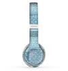 The Blue Patched Paisley Pattern Skin Set for the Beats by Dre Solo 2 Wireless Headphones