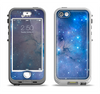 The Blue & Purple Mixed Universe Apple iPhone 5-5s LifeProof Nuud Case Skin Set