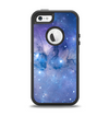 The Blue & Purple Mixed Universe Apple iPhone 5-5s Otterbox Defender Case Skin Set