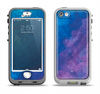The Blue & Purple Pastel Apple iPhone 5-5s LifeProof Nuud Case Skin Set