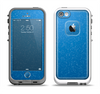 The Blue Subtle Speckles Apple iPhone 5-5s LifeProof Fre Case Skin Set