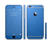 The Blue Subtle Speckles Sectioned Skin Series for the Apple iPhone 6/6s