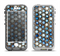 The Blue Tiled Abstract Pattern Apple iPhone 5-5s LifeProof Nuud Case Skin Set