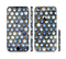 The Blue Tiled Abstract Pattern Sectioned Skin Series for the Apple iPhone 6/6s Plus