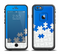 The Blue & White Scattered Puzzle Apple iPhone 6/6s LifeProof Fre Case Skin Set