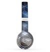 The Blue and Gray 3D Cubes Skin Set for the Beats by Dre Solo 2 Wireless Headphones