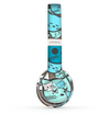 The Blue and Pink Vector Faced Cats Skin Set for the Beats by Dre Solo 2 Wireless Headphones