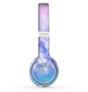 The Blue and Purple Translucent Glimmer Lights Skin Set for the Beats by Dre Solo 2 Wireless Headphones