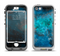 The Blue and Teal Painted Universe Apple iPhone 5-5s LifeProof Nuud Case Skin Set