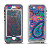The Bold Colorful Paisley Pattern Apple iPhone 5-5s LifeProof Nuud Case Skin Set