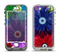 The Boldly Colored Flowers Apple iPhone 5-5s LifeProof Nuud Case Skin Set