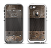 The Bolted Metal Sheets Apple iPhone 5-5s LifeProof Fre Case Skin Set
