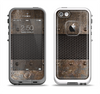 The Bolted Rustic Metal Sheets Apple iPhone 5-5s LifeProof Fre Case Skin Set
