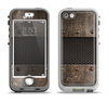 The Bolted Rustic Metal Sheets Apple iPhone 5-5s LifeProof Nuud Case Skin Set
