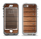 The Bolted Wood Planks Apple iPhone 5-5s LifeProof Nuud Case Skin Set