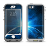The Bright Blue Earth Light Flash Apple iPhone 5-5s LifeProof Nuud Case Skin Set