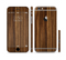 The Bright Ebony Woodgrain Sectioned Skin Series for the Apple iPhone 6/6s Plus