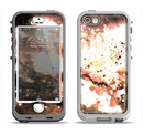 The Bright Gold Cloudy Lights Apple iPhone 5-5s LifeProof Nuud Case Skin Set