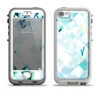 The Bright Highlighted Tile Pattern Apple iPhone 5-5s LifeProof Nuud Case Skin Set