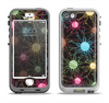 The Bright Loopy Circle Extract Apple iPhone 5-5s LifeProof Nuud Case Skin Set