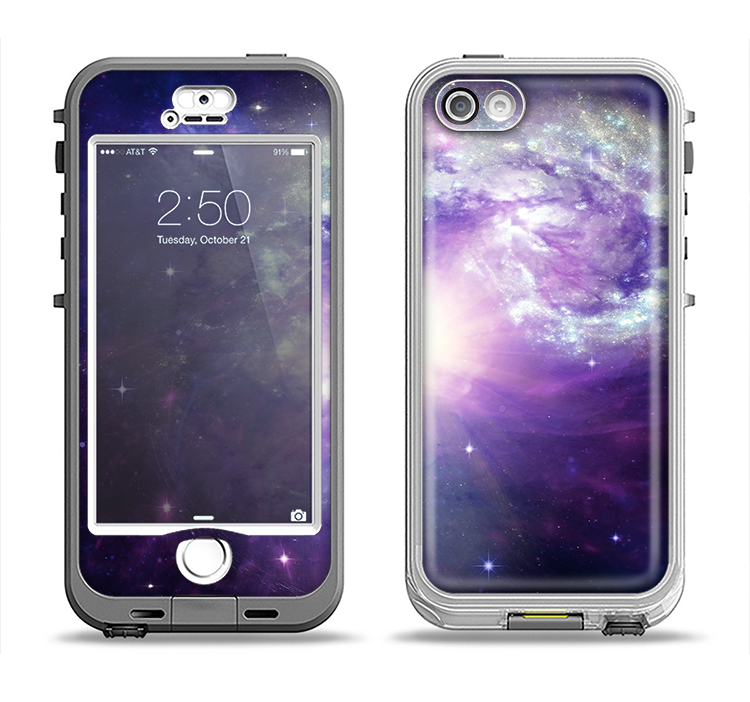 The Bright Open Universe Apple iPhone 5-5s LifeProof Nuud Case Skin Set