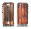 The Bright Stained Wooden Planks Apple iPhone 5-5s LifeProof Nuud Case Skin Set