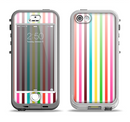 The Bright Vector Striped Apple iPhone 5-5s LifeProof Nuud Case Skin Set