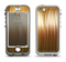 The Brown Vector Swirly HD Strands Apple iPhone 5-5s LifeProof Nuud Case Skin Set