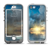 The Calm Ocean Sunset Apple iPhone 5-5s LifeProof Nuud Case Skin Set