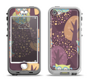 The Cartoon Curious Owls Apple iPhone 5-5s LifeProof Nuud Case Skin Set