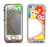 The Cartoon Owls with Big Heart Apple iPhone 5-5s LifeProof Nuud Case Skin Set