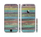 The Chipped Pastel Paint on Wood Sectioned Skin Series for the Apple iPhone 6/6s Plus