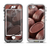 The Chocolate Delish Apple iPhone 5-5s LifeProof Nuud Case Skin Set