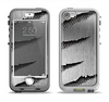 The Clawed Metal Sheet Apple iPhone 5-5s LifeProof Nuud Case Skin Set