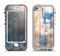 The Cloudy Wood Planks Apple iPhone 5-5s LifeProof Nuud Case Skin Set
