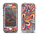The Color Floral Sprout Apple iPhone 5-5s LifeProof Nuud Case Skin Set