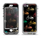 The Colored Vintage Bike Pattern On Black Apple iPhone 5-5s LifeProof Nuud Case Skin Set
