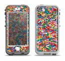 The Colorful Candy Sprinkles Apple iPhone 5-5s LifeProof Nuud Case Skin Set