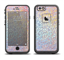 The Colorful Confetti Glitter Sparkle Apple iPhone 6/6s LifeProof Fre Case Skin Set
