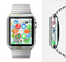 The Colorful Emotional Cartoon Owls in the Trees Full-Body Skin Set for the Apple Watch